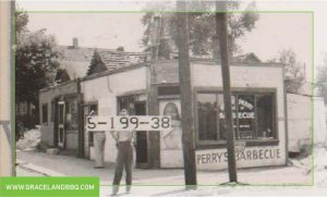 . First BBQ restaurant opened in 1910 by Henry Perry in Kansas City