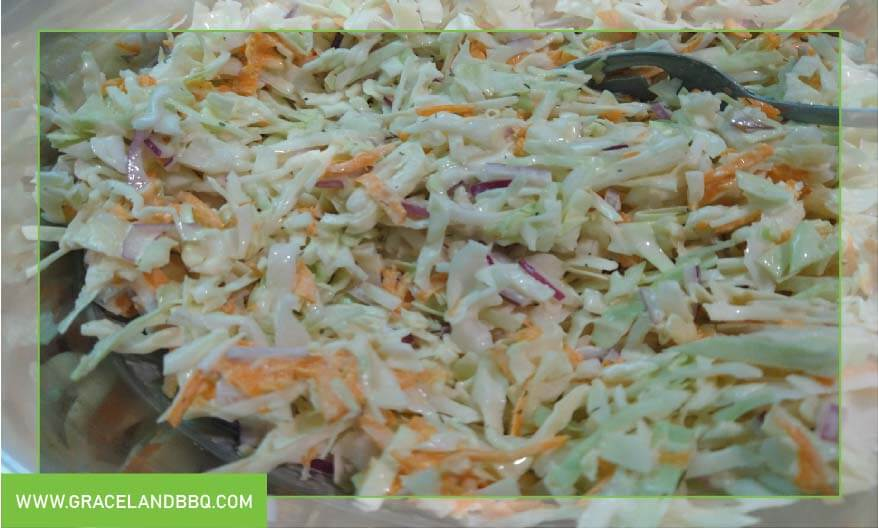 Savory slaw recipe
