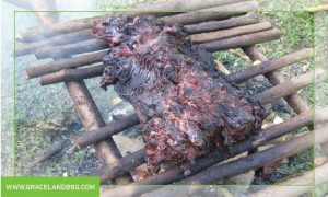boucan grill for cooking meat
