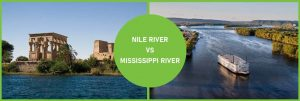 nile river vs mississippi river comparison