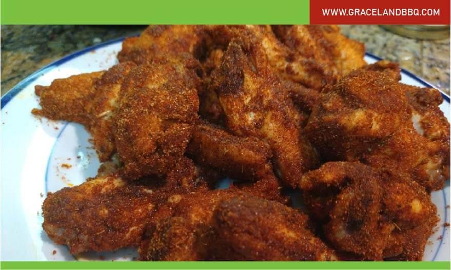 Memphis Rubbed Wings recipe