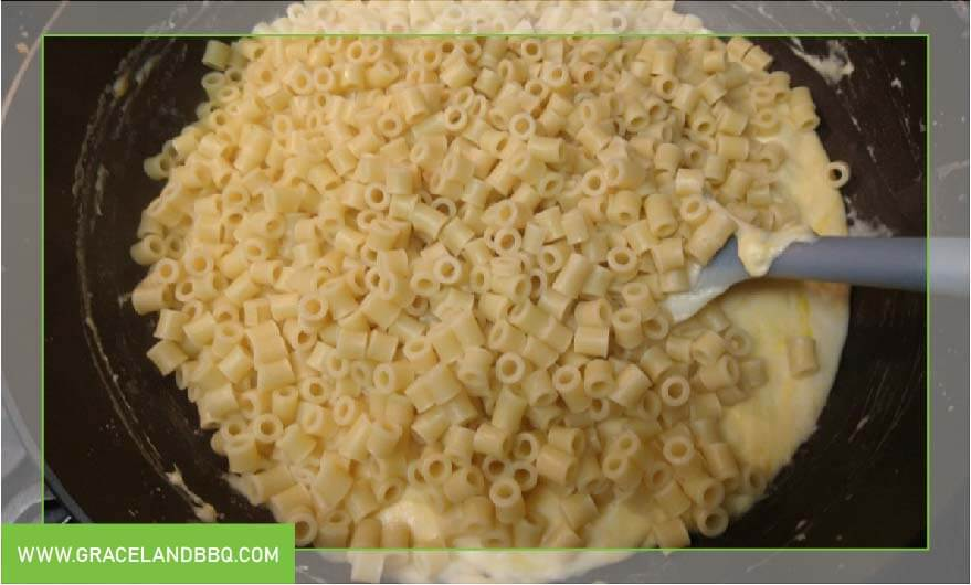 macaroni noodles for Mega Mac and Cheese