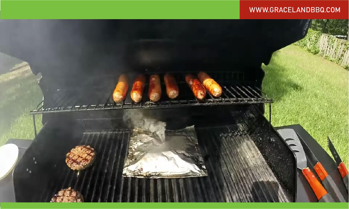 use Gas Grill as Smoker