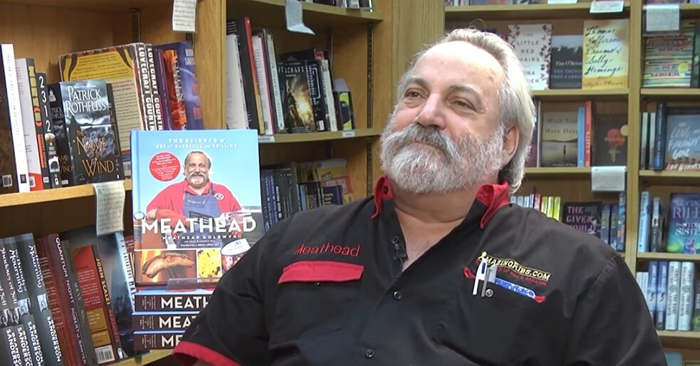 "Meathead Goldwyn's latest book ""The Science of Great Barbecuing and Grilling"""